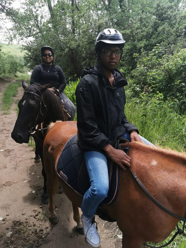 ash horse riding