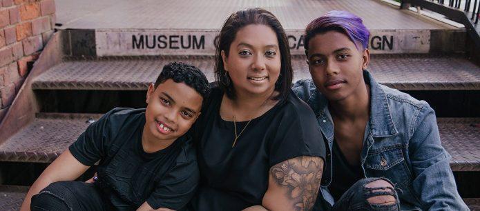 Natasha and sons