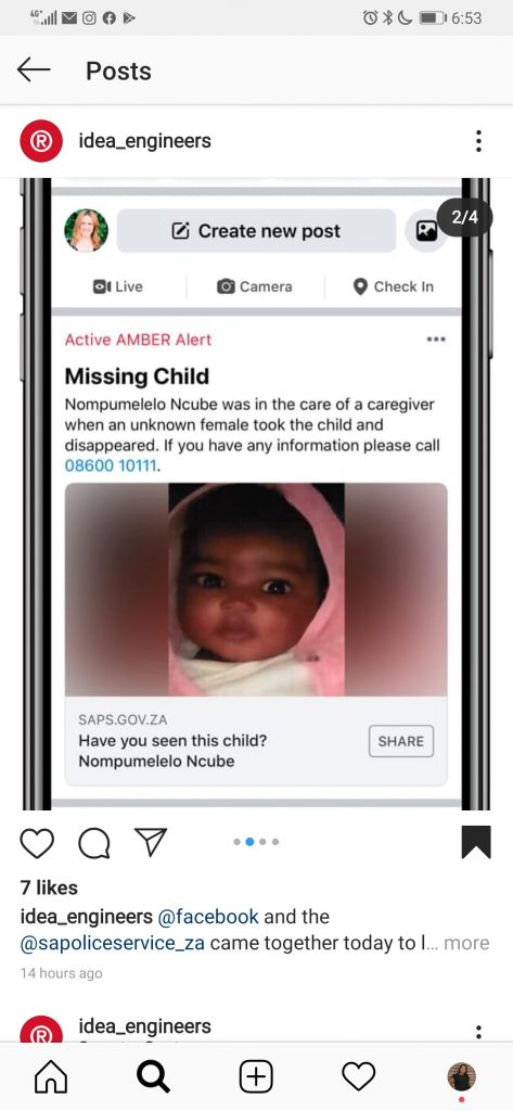 example of amber alert
