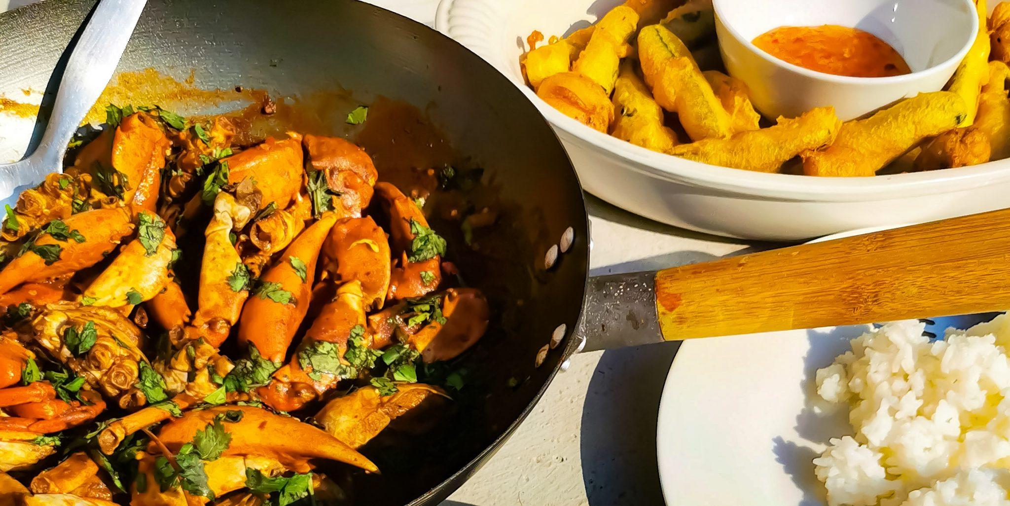 Singaporean Inspired Chilli Crab Recipe