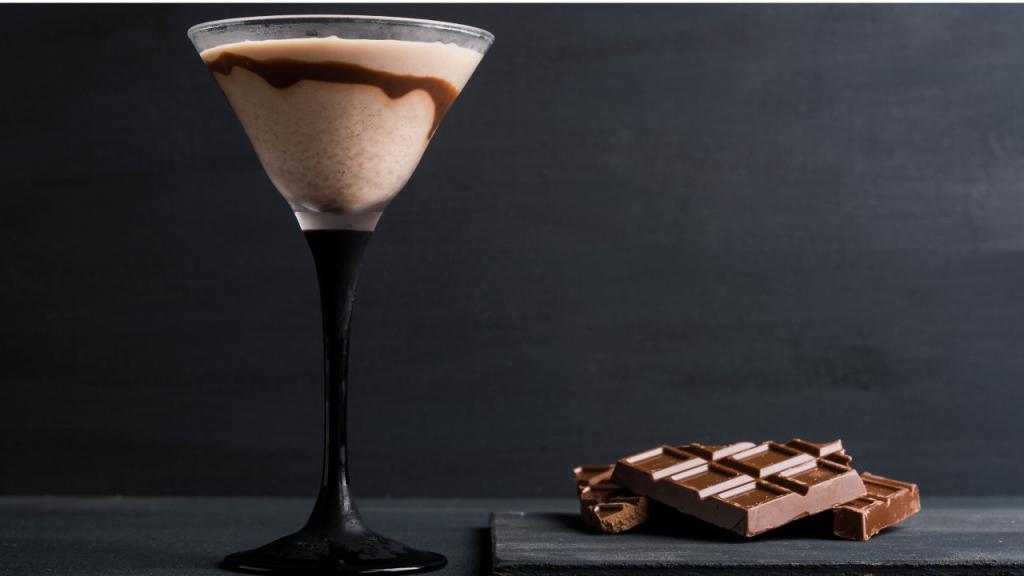 Amarula chocolate martini